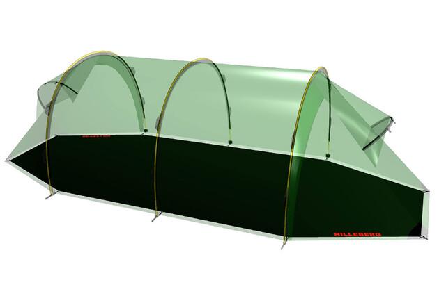 Hilleberg Keron 4 Tent, green l Online outdoor shop Campz.nl